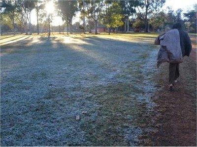 Frío polar: Escarchas para el fin de semana