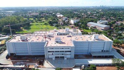 """Hospital de US$ 70.000.000 terminado sin poder funcionar: IPS y medio ambiente """"pelean"""""""