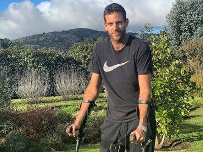 Del Potro inicia su recuperación tras operarse la rodilla derecha