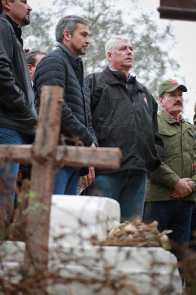 Mandatario rindió homenaje a héroes de la histórica batalla de Nanawa en el Chaco paraguayo