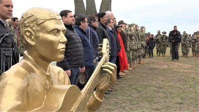 Rinden homenaje a héroes de la histórica Batalla de Nanawa en el Chaco