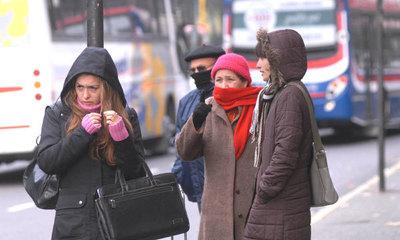 Meteorología pronostica un viernes frío y sin lluvia