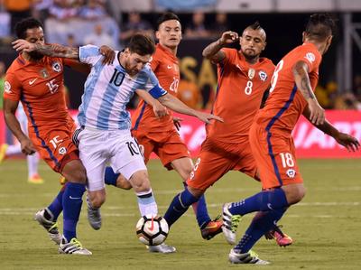 Argentina tiene supremacía sobre Chile