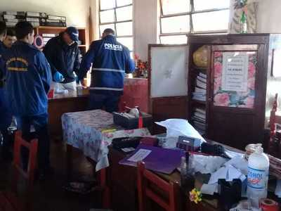 Colegio de Concepción fue visitado por ladrones