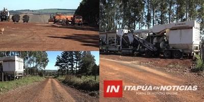 TRP: LLAMATIVO RETRASO EN CONSTRUCCIÓN DE 40 CUADRAS DE ASFALTADO