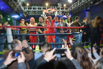 Richard «La Pantera» Moray conquista el Sudamericano de Boxeo
