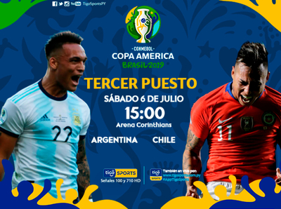 Argentina y Chile resuelven el tercer lugar