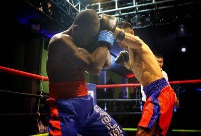 'Pantera' Moray, campeón del Sudamericano de Boxeo