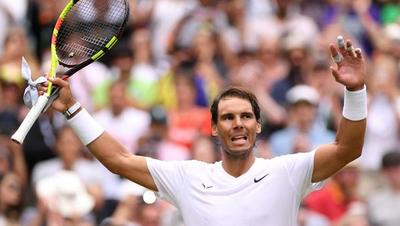Rafael Nadal elimina a Tsonga y avanza a octavos en Wimbledon