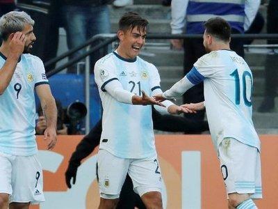 Argentina vence la provocación y logra el tercer puesto con Messi expulsado