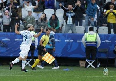 Argentina derrotó a Chile y es tercero en la Copa América