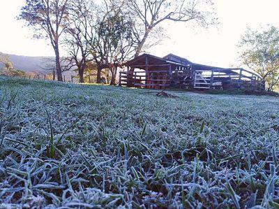 Frío rompió récords: temperatura bajó hasta casi