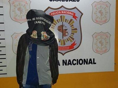 Detienen a autor confeso de crimen de joven en Caaguazú