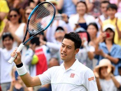 Nishikori afronta la segunda semana con 400 victorias en el Grand Slam