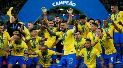 En un vibrante partido, Brasil venció a Perú y se coronó como nuevo campeón