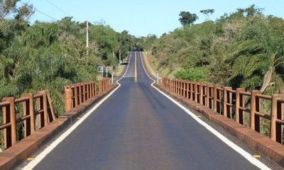 MOPC ampliará puente sobre el río Yguazú