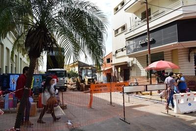 Por labores de alcantarillado desde hoy se cerrarán algunas calles de Asunción