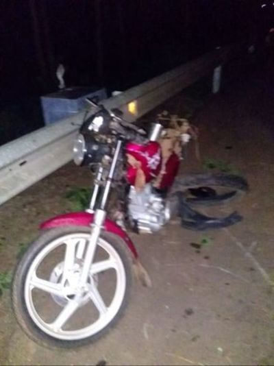 Horqueta: Joven fallece en accidente de tránsito