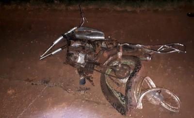 Joven encontrado muerto al costado de la Ruta VII