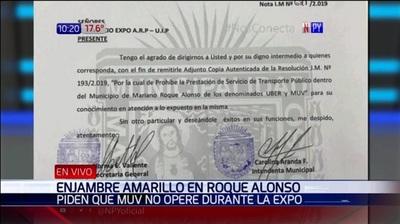 Levanta prohibición a Muv y Uber en Roque Alonso