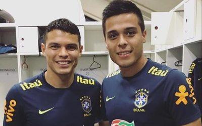 Un paraguayo fue sparring de la selección de Brasil