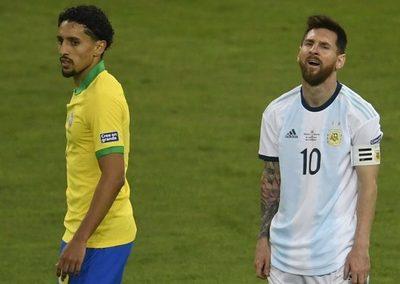Marquinhos respondió y destrozó a Messi