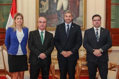 OEI expresa interés en afianzar cooperación con el Paraguay