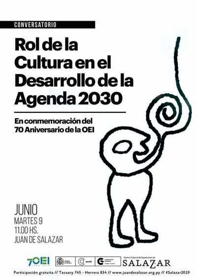 """Disertarán sobre """"El rol de la cultura en el desarrollo de la Agenda 2030"""""""