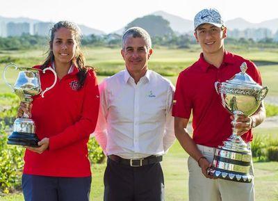 María Fernanda Escauriza gana campeonato en Brasil
