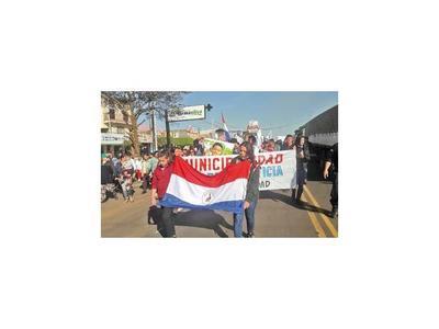 Cientos de libereños salen a la calle a clamar por paz y justicia