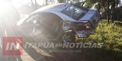 ACCIDENTE EN SAN JUAN DEL PARANÁ DEJA DAÑOS MATERIALES…