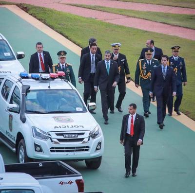 Entregan nuevas patrulleras para fortalecer trabajo de comisarías del interior del país