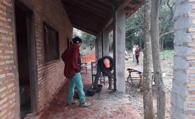 HOY / Solidaridad de sampedranos permitirá refaccionar humilde escuela que estaba por derrumbarse