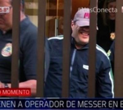 Capturan al operador de Darío Messer en Brasil