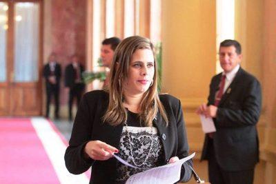 Diputada pide acompañamiento de Abdo Benítez en paquete de leyes anticorrupción