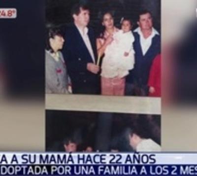Mujer busca a su madre que la dio en adopción cuando tenía 2 meses