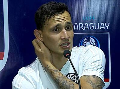 Willian Candia dice estar contento con el grupo en Olimpia