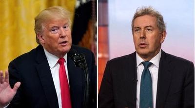 Tras un cruce de insultos con Trump, renunció el embajador británico en EE.UU.
