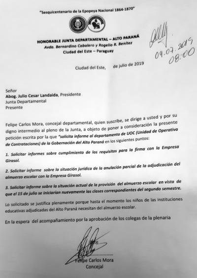 Sin quórum en la Junta para tratar pedido de informe sobre situación legal de Girasol