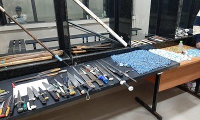 Cateo en Tacumbú permite incautación de armas, drogas y celulares