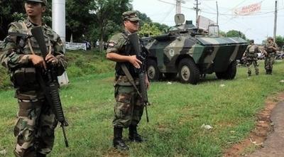 """HOY / Sitiaron distrito en San Pedro en 20 minutos, ¿y la FTC?: """"Es solo por pedido"""", dice vocero militar"""