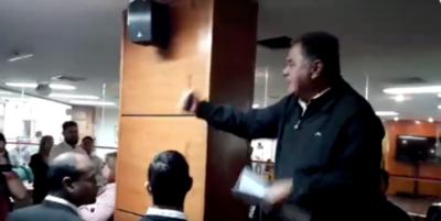 HOY / Taxistas hacen loas al EPP, escrachan a concejala y piden fusilar a periodistas