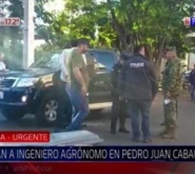 Asesinan a balazos a ingeniero en Pedro Juan Caballero