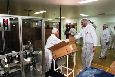 Farmacéutica Paraguaya destaca «espaldarazo» d el Gobierno para seguir invirtiendo en el país