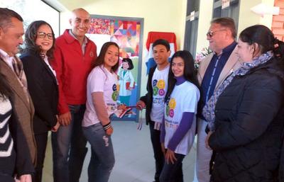 Adolescentes de Repatriación y Juan Manuel Frutos ya cuentan con servicios cómodos y amigables