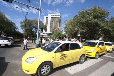 """""""Furia amarilla"""", taxistas hicieron """"apología al delito"""""""