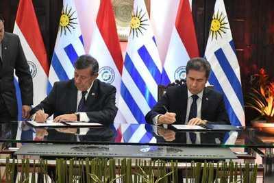 Paraguay y Uruguay acuerdan ampliar el intercambio comercial, las cadenas productivas e inversiones