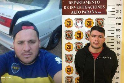 Detienen a dos presuntos sicarios que atentaron contra policía y dos civiles en Presidente Franco