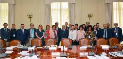 Ministra Peña a reunión Iberoamericana de Ética Judicial