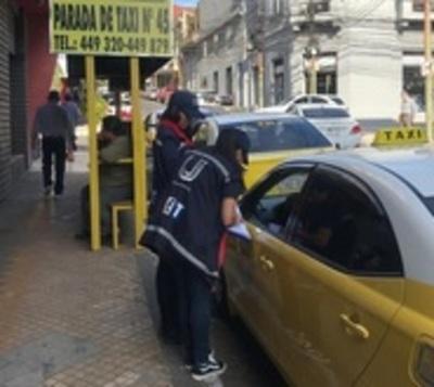 El sector taxista está 'bajo la lupa' de la SET